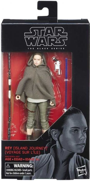 "Star Wars The Black Series Rey (Island Journey) 6"" Action Figure"